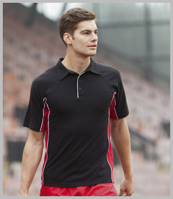 Poly Cotton Contrast Polo Shirts