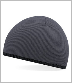 Beechfield Two-Tone Beanie Acrylic Knitted Hat