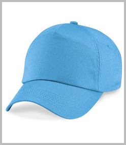 Beechfield Kids Unlined Cotton Cap