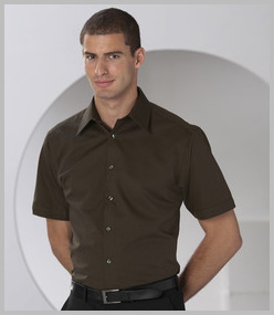 Russell Short Sleeve Tencel Fitted Shirt