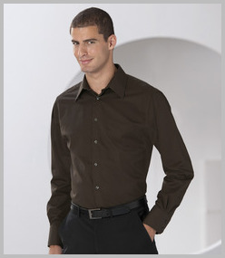 Russell Long Sleeve Tencel Fitted Shirt