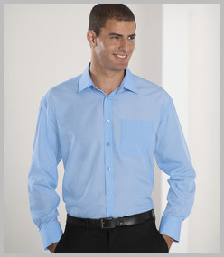Russell Long Sleeve Tencel Corporate Shirt