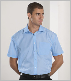 Russell Short Sleeve Tencel Corporate Shirt