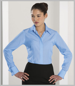 Russell Ladies Long Sleeve Tencel Corporate Shirt