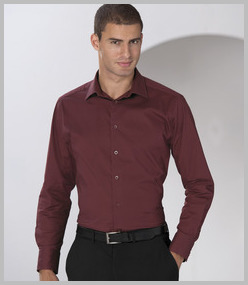 Russell Long Sleeve Easy Care Fitted Shirt