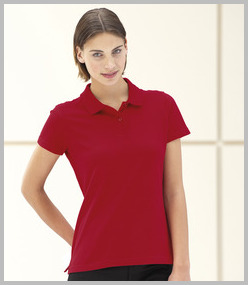 Jerzees Ladies Pique Polo Shirt