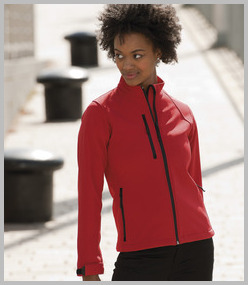 Jerzees Ladies Soft Shell Jacket