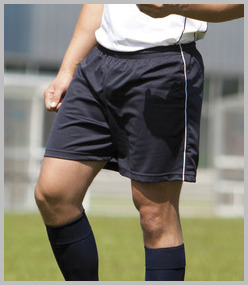 Tombo Football Piped Shorts