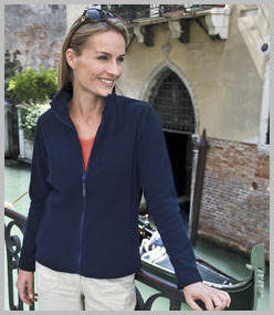 Result Ladies La Femme Micro Fleece Jacket