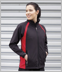Finden & Hales Ladies Team Soft Shell Jacket