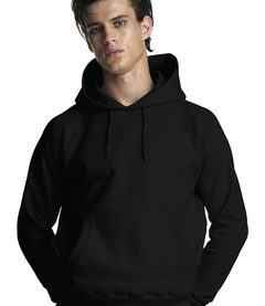 Continental Mens Pullover Hooded Sweatshirt