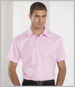Russell Collection Short Sleeve Tailored Ultimated Non Iron Shirt