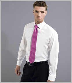 Premier Long Sleeve Double Cuff Business Shirt