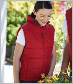 Ladies Stage Padded Bodywarmer