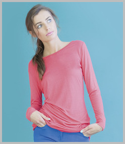 Skinnifit Touch Long Line Long Sleeve T-Shirt