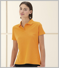 Jerzees Ladies Ultimate Pique Cotton Polo Shirt