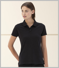 Jerzees Lds Pima Cotton Micro Pique Polo Shirt