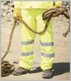 Regatta Hi Vis Breathable Overtrousers