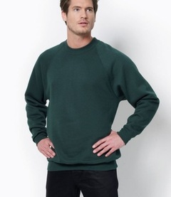 SG Mens Raglan Sleeve Crew Neck Sweat