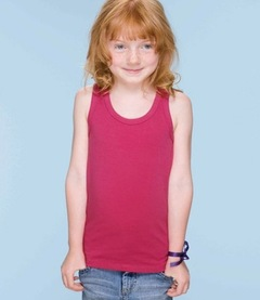 Humbugz Girls Racer Back Vest