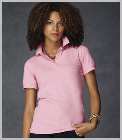 Anvil Ladies Cotton Pique Polo Shirt