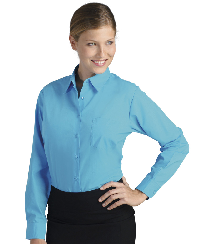 SOLs Ladies Executive Long Sleeve Poplin Shirt