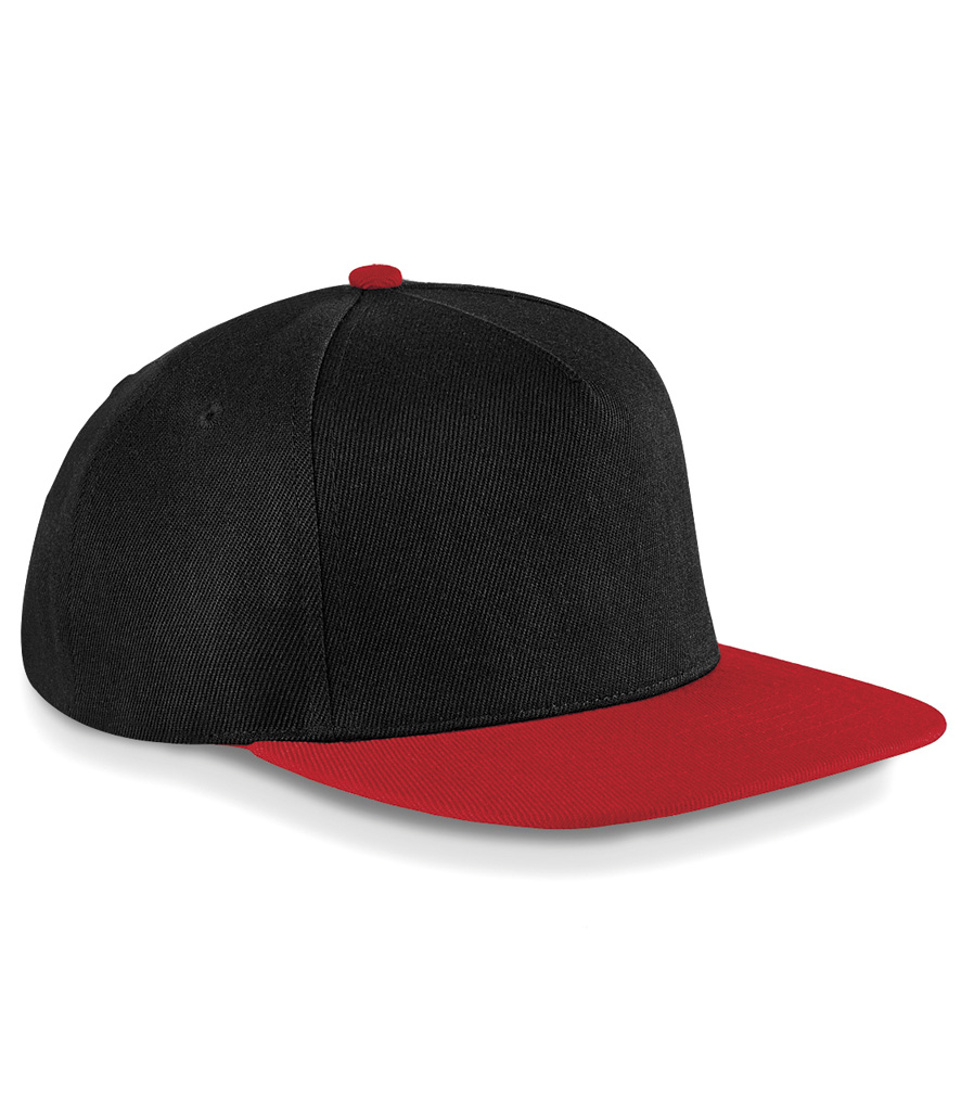 Beechfield Original Flat Peak Snap-Back Cap