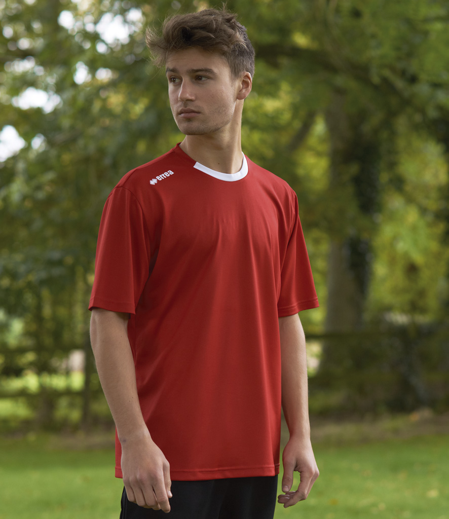 Errea Liverpool Short Sleeve Shirt