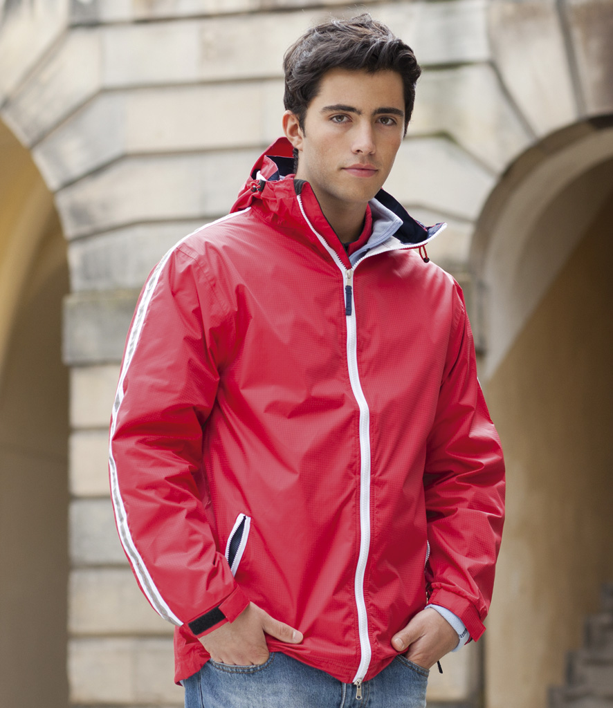 Front Row Waterproof Shell Jacket