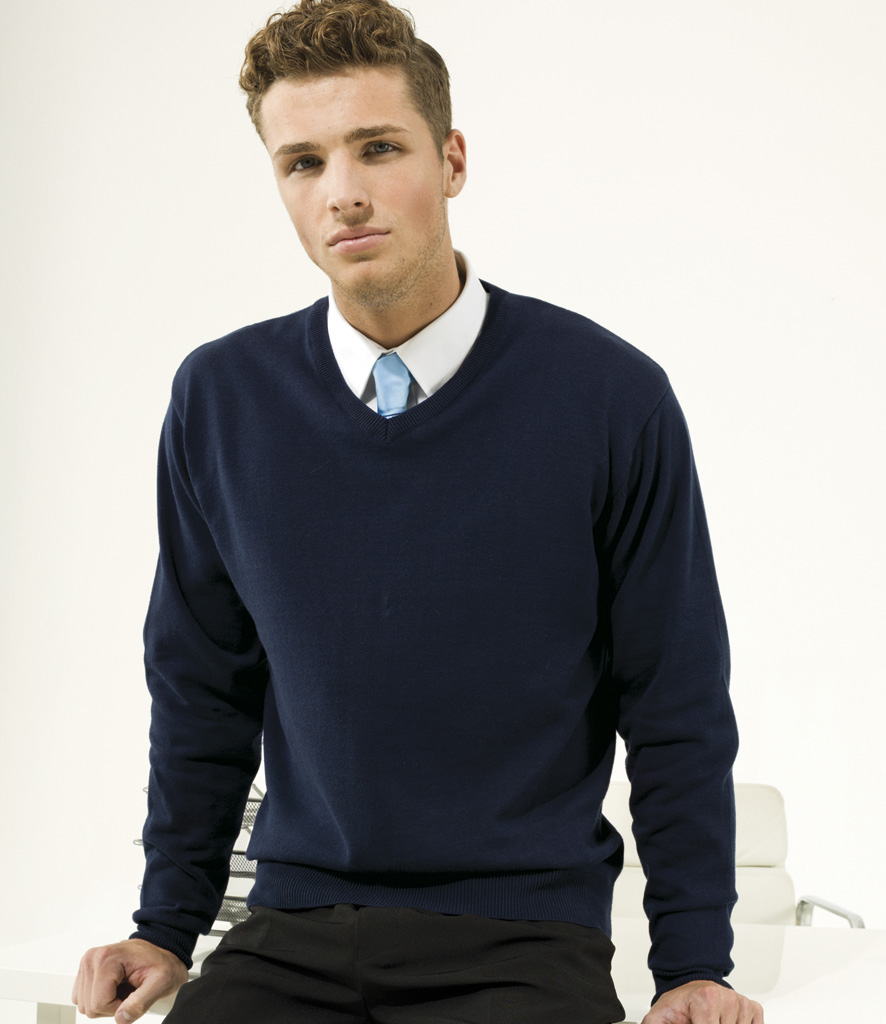 Premier Knitted V Neck Sweater