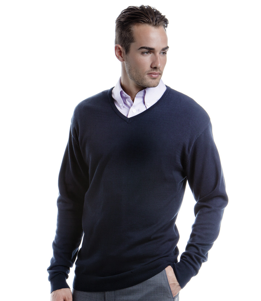 Kustom Kit Arundel V Nk Sweater