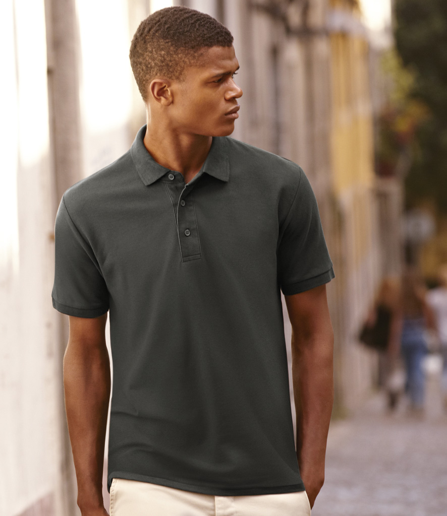 Fruit of the Loom Heavy Pique Polo Shirt