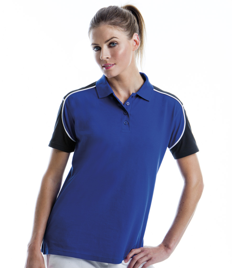 Gamegear Ladies Formula Racing Monaco Pique Polo S