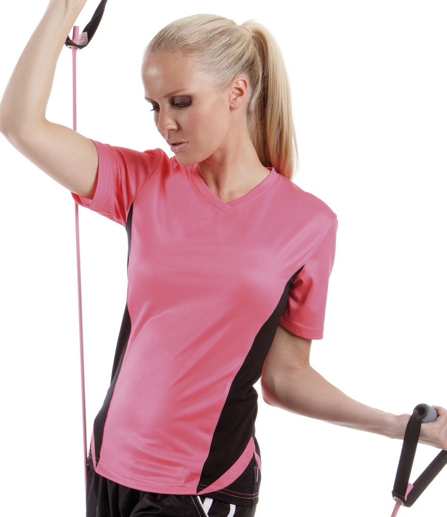 Gamegear Ladies Cooltex V Neck Team Top