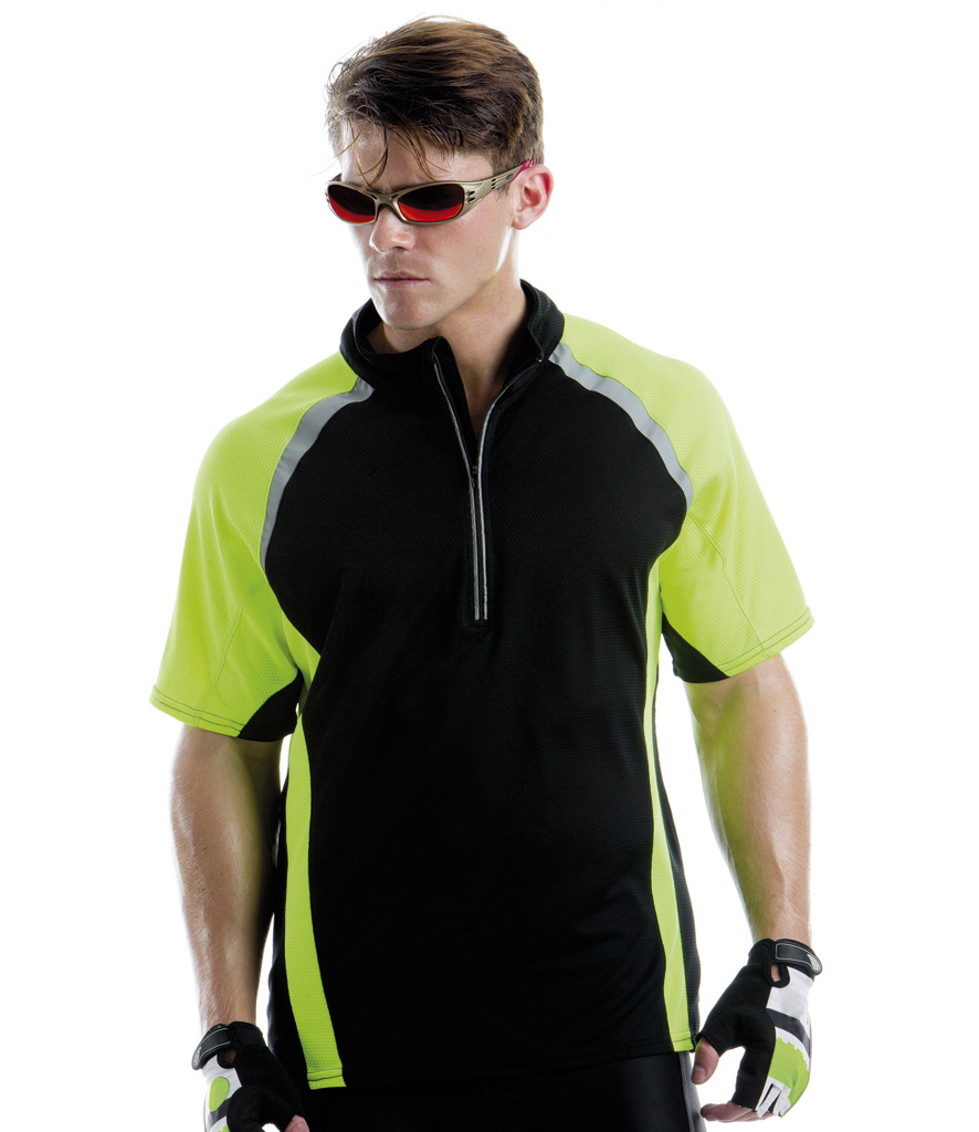 Gamegear Cooltex Tour Zip Neck Top