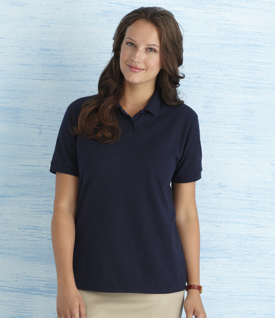 Gildan DryBlend Ladies Pique Polo Shirt