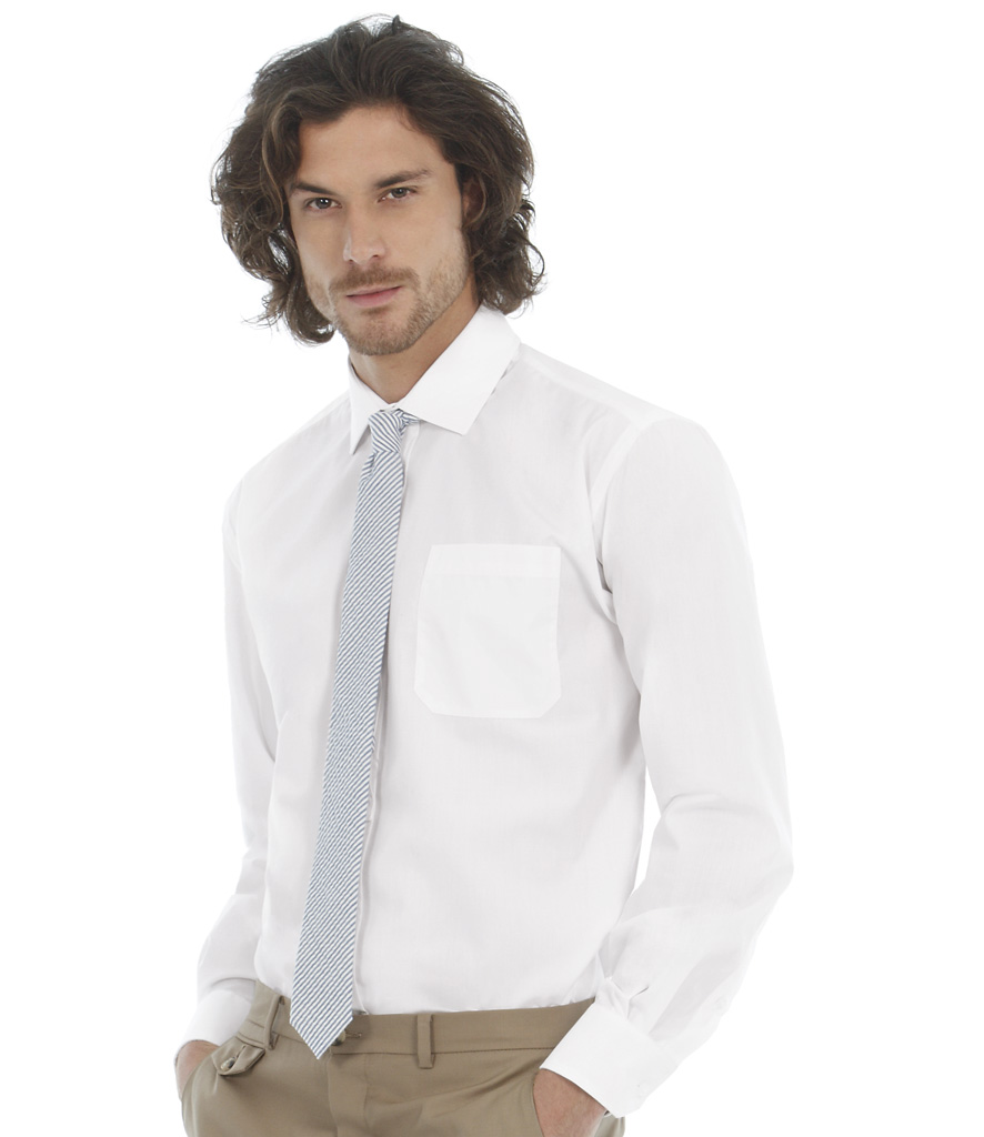 B&C Smart Long Sleeve Shirt