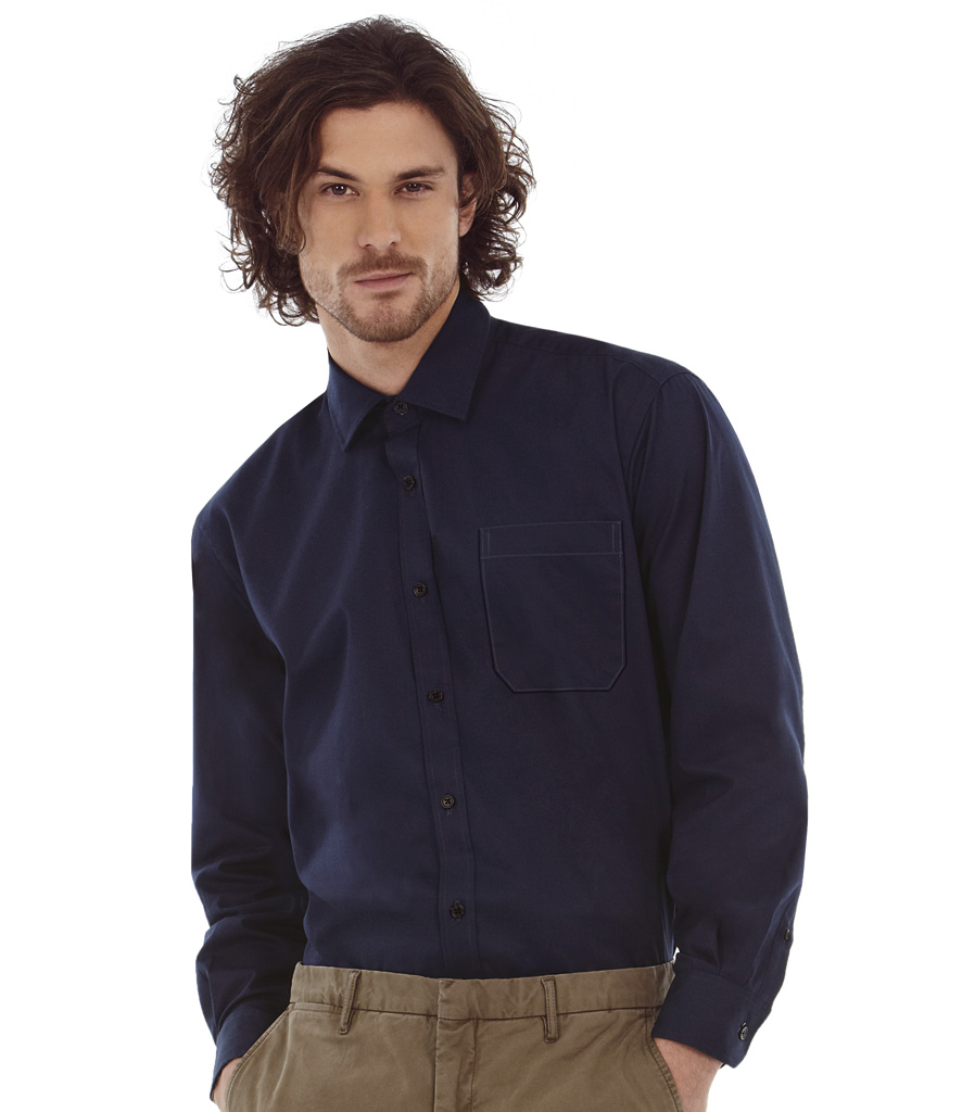 B&C Sharp Long Sleeve Shirt