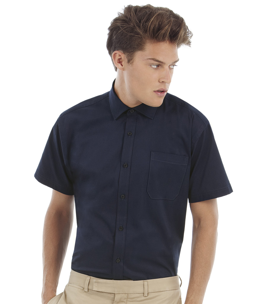 B&C Sharp Short Sleeve Shirt