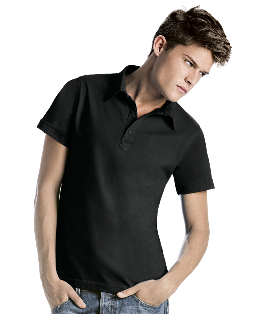B&C Cinnamon Jersey Polo Shirt