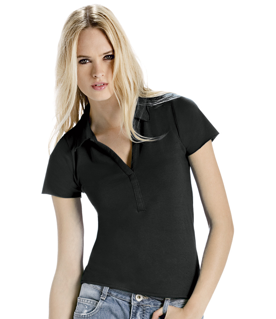 B&C Ladies Love Spice Jersey Polo Shirt