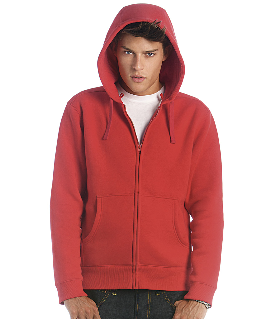 B&C Zip Hooded Jacket