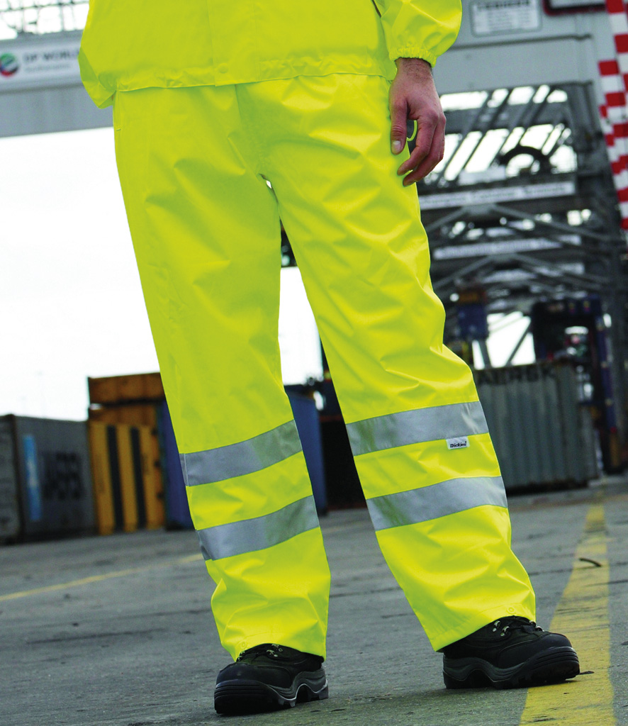 Dickies High Visibility Highway Safety Trousers