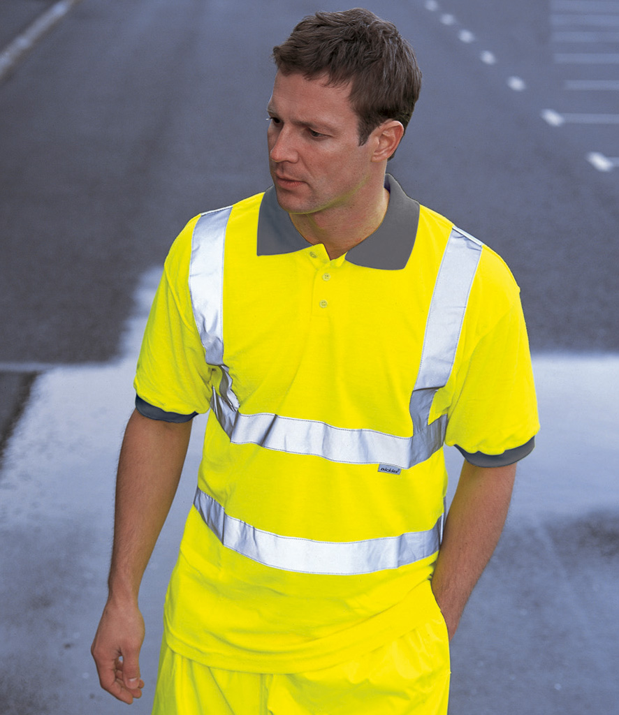 Dickies High Visibility Polo Shirt