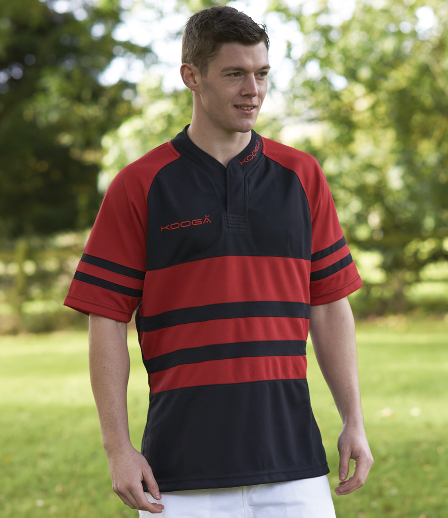 Kooga Evaporex Phase II Hooped Match Shirt