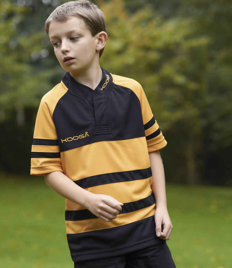 Kooga Kids Evaporex Phase II Hooped Match Shirt