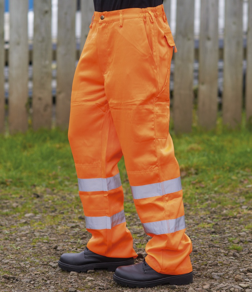 Warrior Delray High Visibility Trousers