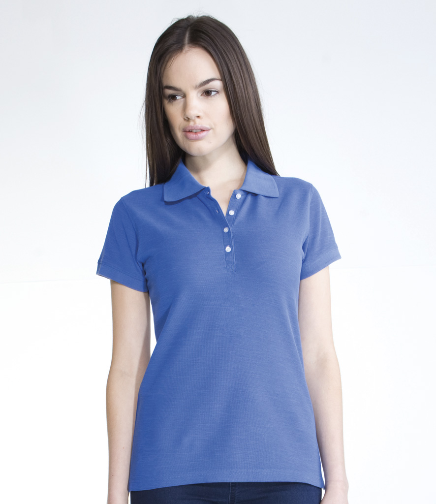 Skinnnifit Ladies Thick and Thin Polo Shirt