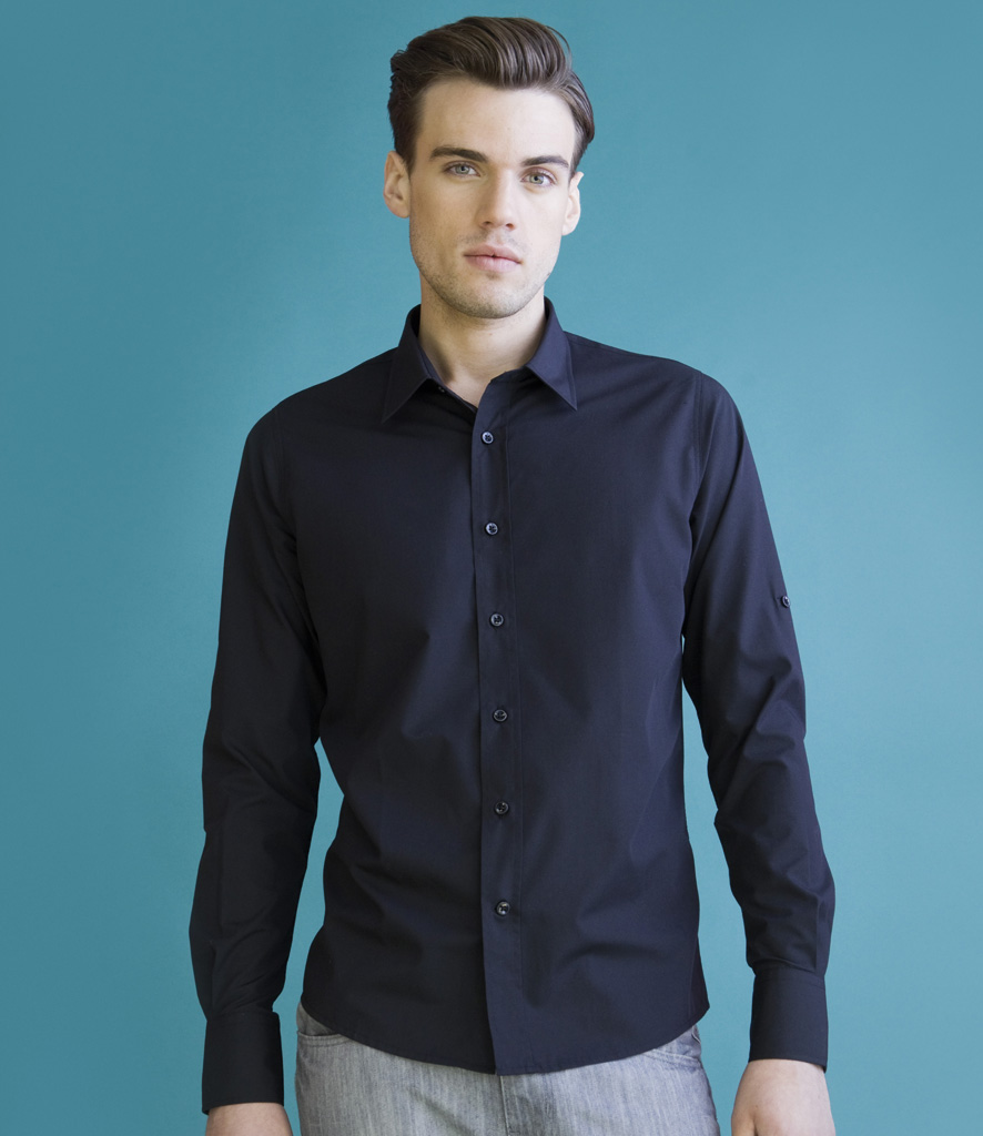 Skinnifitmen Roll Sleeve Shirt