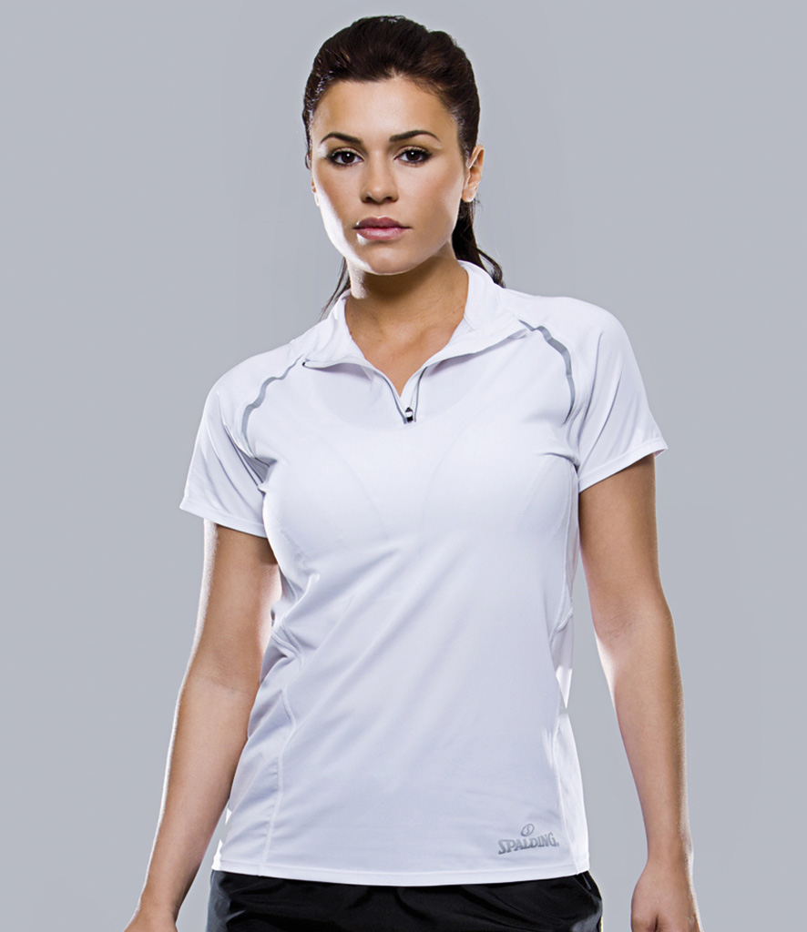 Spalding Ladies Endurance Zip Neck Top